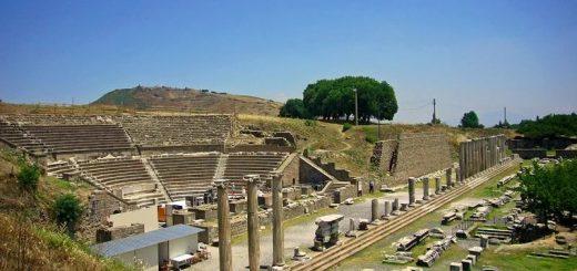 греческий храмовый комплекс Асклепион