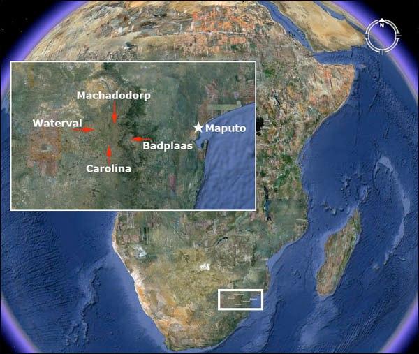 город в Африке