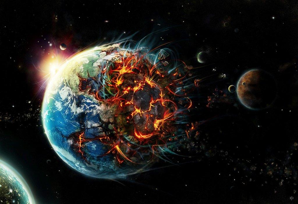 взрыв Земли
