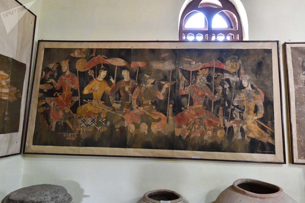 руины Пенджикента