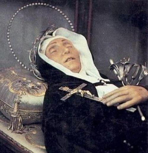 Святая Вероника Джулиани (27 декабря 1660 — 9 июля 1727)