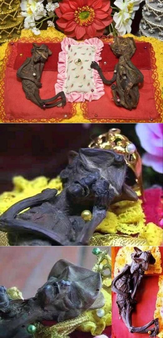 Странные мумии в Тайском храме