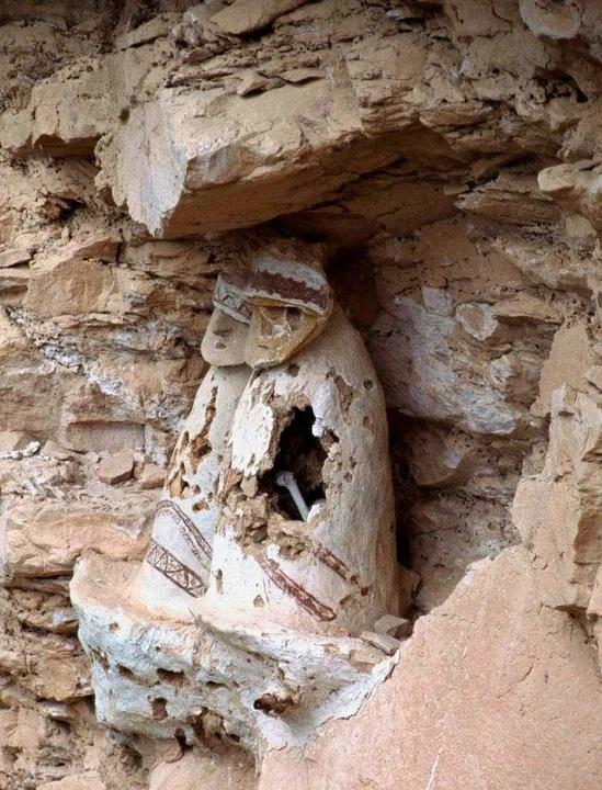 горные саркофаги индейцев Чачапойя