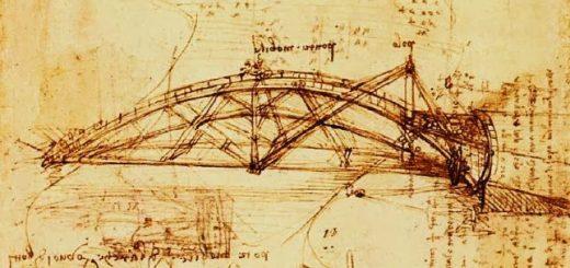 арочный мост Леонардо да Винчи