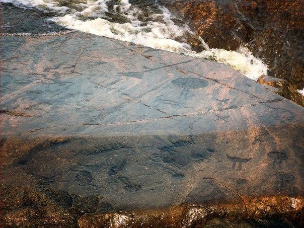 Онежские петроглифы