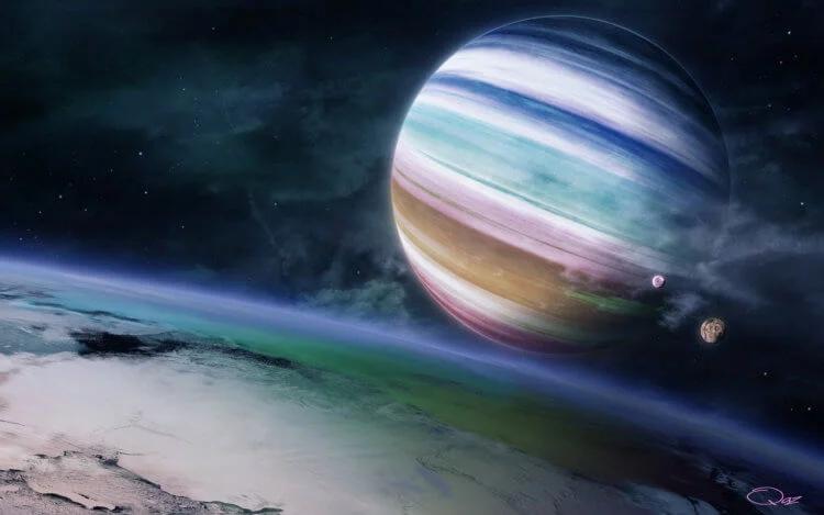 Вокруг Kepler-1625b вращается огромный спутник, размером с Нептун