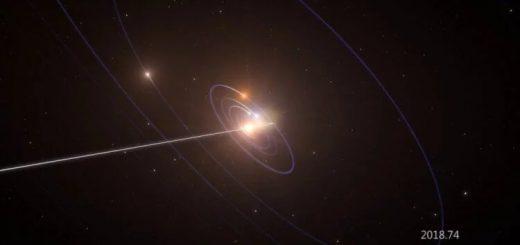 На изображении газовый гигант GJ 3512b. Планета находится за пределами зоны обитаемости — зоны, удаленной от звезды настолько, что там может формироваться жизнь