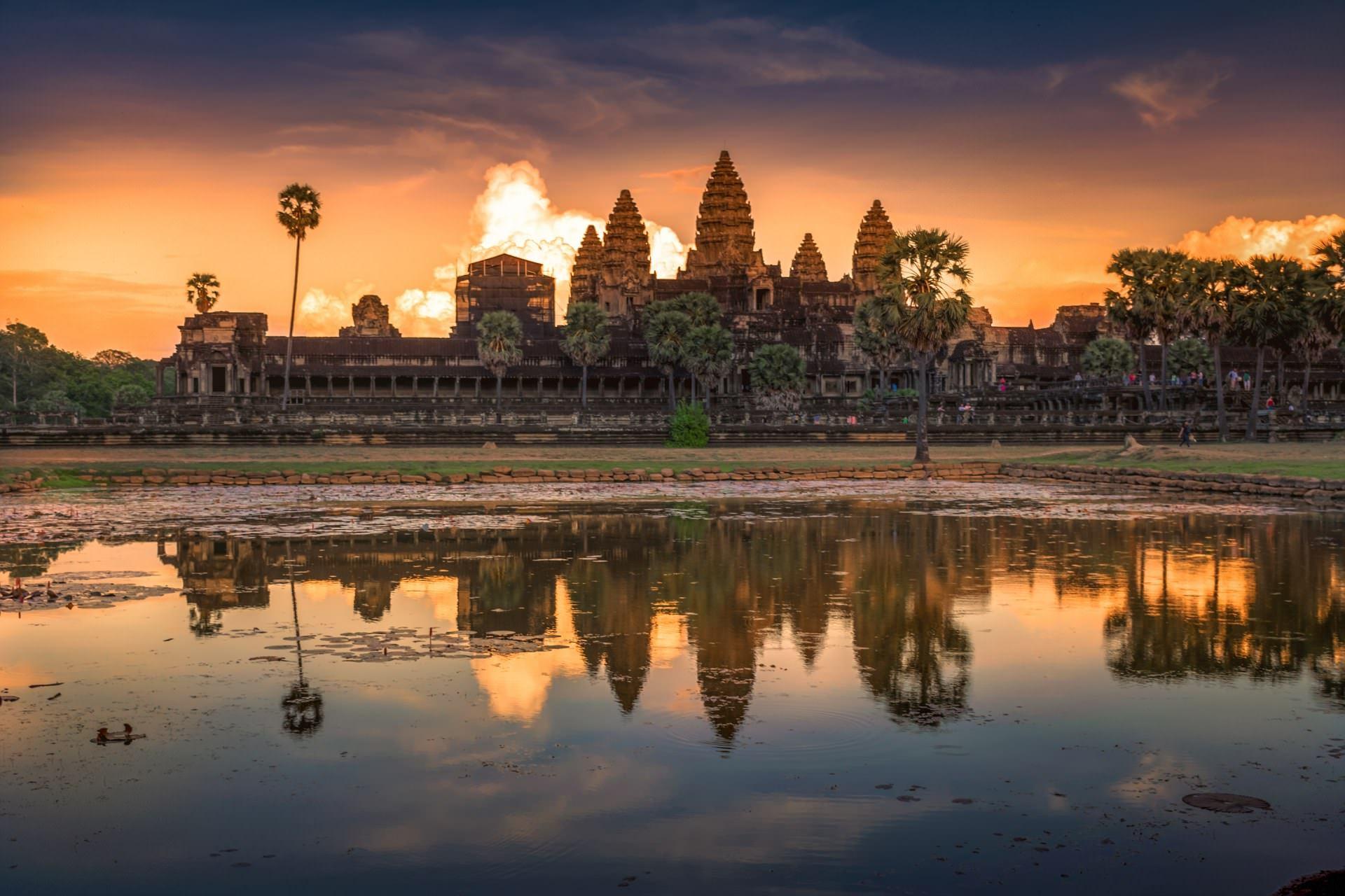 Ангкор-Ват,Будда