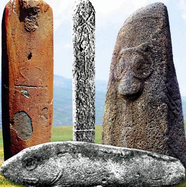 камни-драконы древней Армении