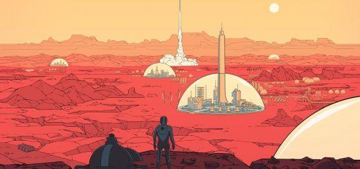 Колонизация Марса в представлении художника