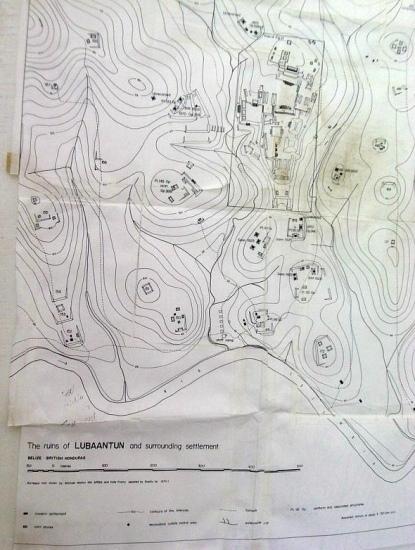 рельефная карта