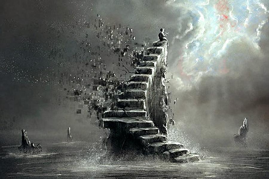 Исчезающая лестница