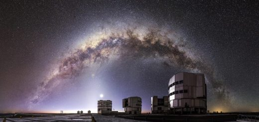 Так выглядит Very Large Telescope в Чили