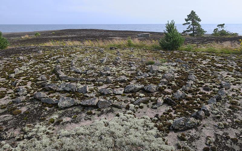 Лабиринт на острове Крутояр