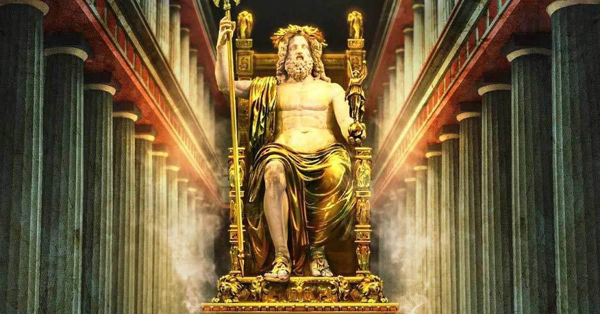 Уничтожение статуи Зевса