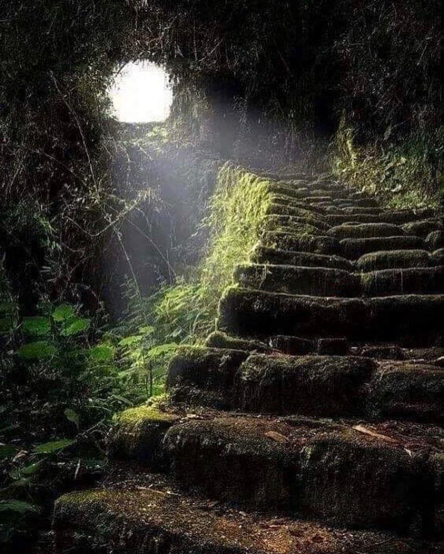 Призрачная лестница в Швеции