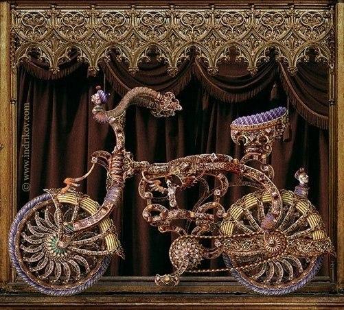 рыцарский велосипед