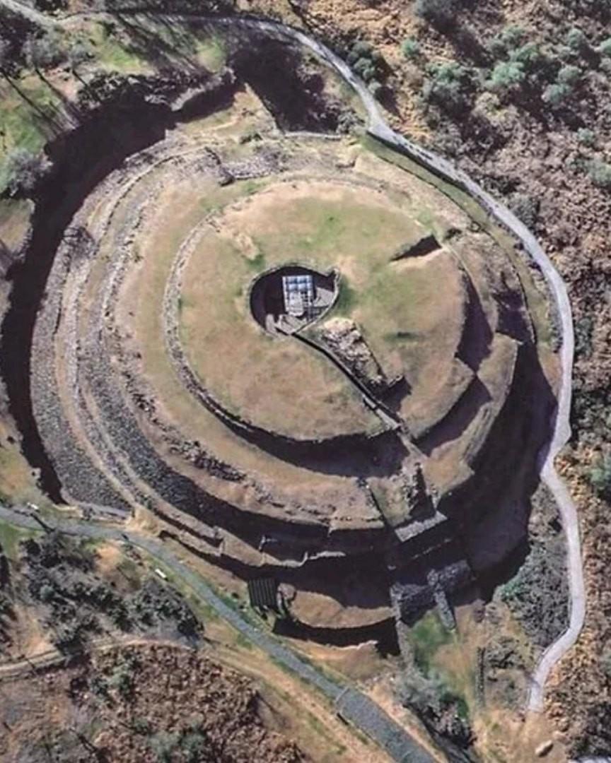 Пирамиды круглой формы