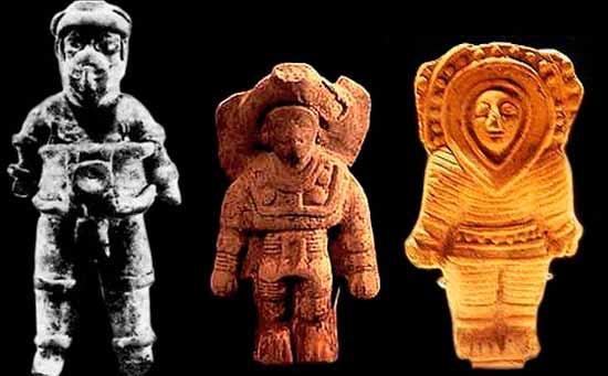 статуэтки с космонавтами?