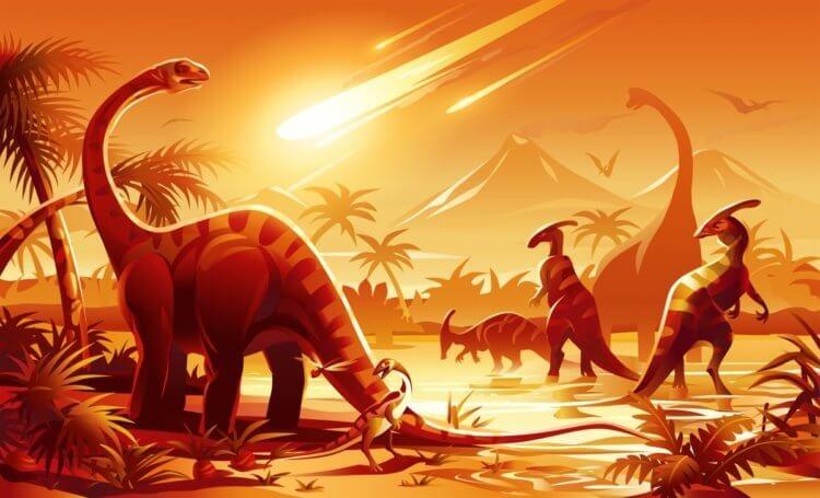 астероид и динозавры