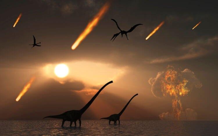 метеориты и динозавры