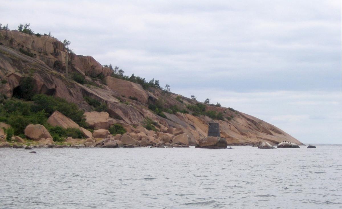 остров Бло-Юнгфрун