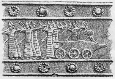 Загадочные танки на ассирийских барельефах