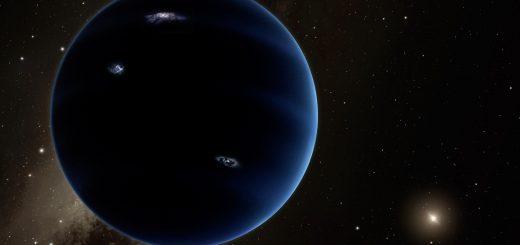 Девятая планета в представлении художника