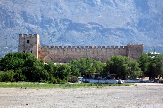 Замок Франгокастелло (Греция)