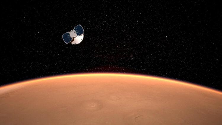 Аппарат NASA InSight приближается к поверхности Марса