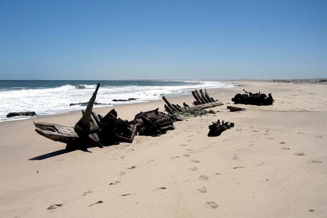 Берег скелетов (Намибия)