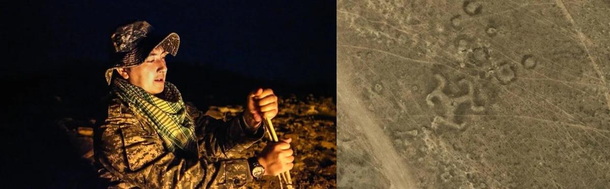 Геоглифы в казахской степи