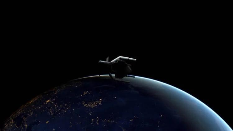 Так должен выглядеть аппарат ESA ClearSpace-1 на орбите нашей планеты