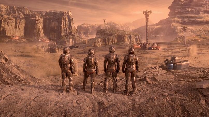 Во вселенной «Пространства» Марс по праву считаете самыми милитаризированным государством Солнечной системы