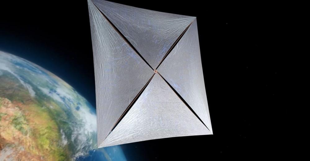 Концепт межзвездного зонда на солнечных парусах Breakthrough Starshot / © Breakthrough Initiatives