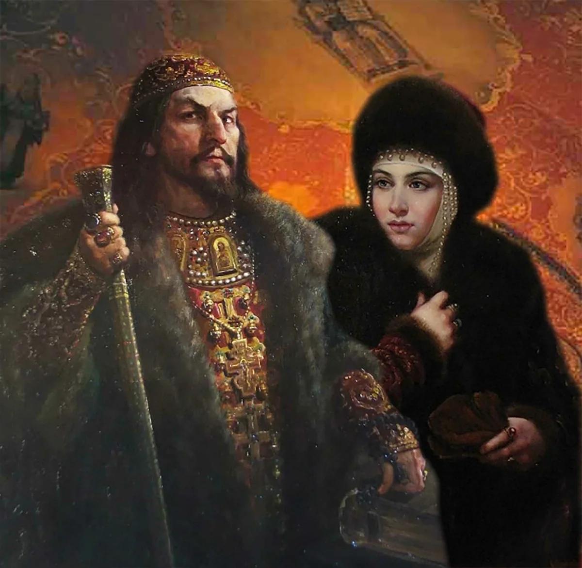 Иван Грозный и Марфа Собакина