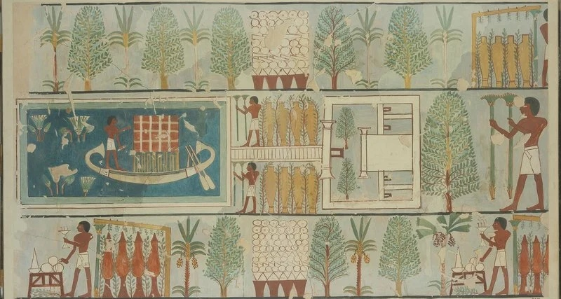 Древнеегипетский сад