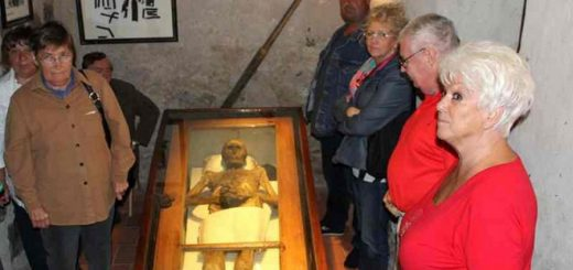 мумия рыцаря фон Кальбутц из Кампеля