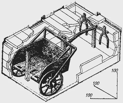 древняя колесница с Урала