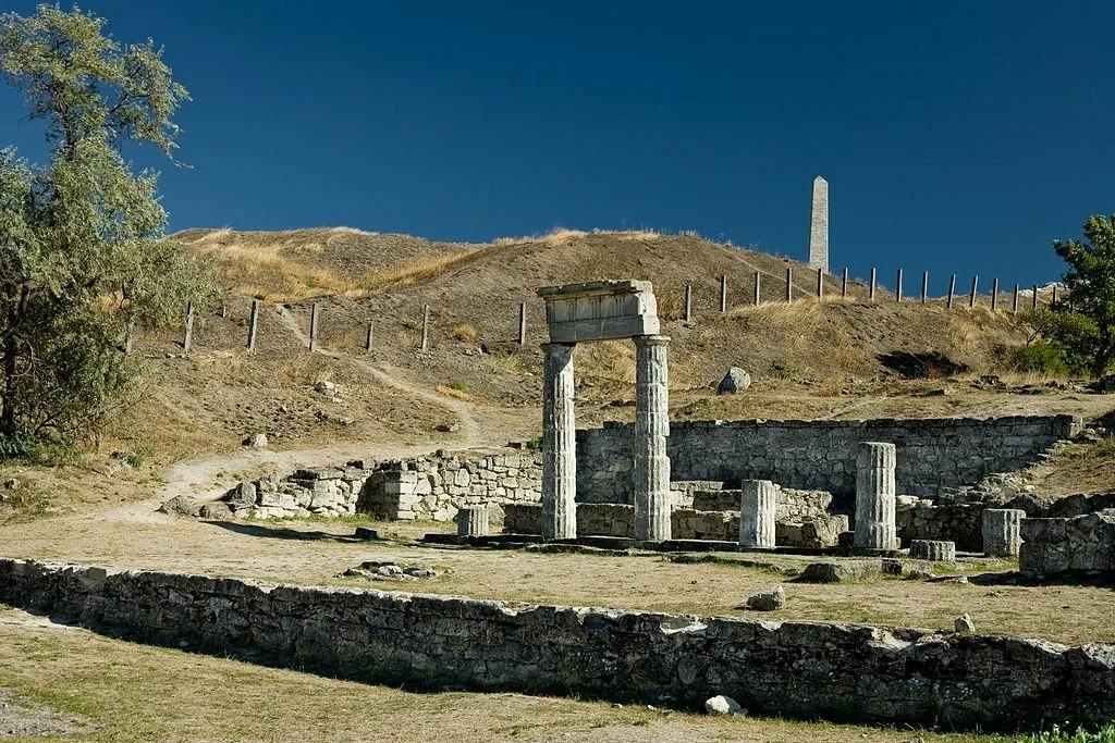 Памятники античных времен в Крыму