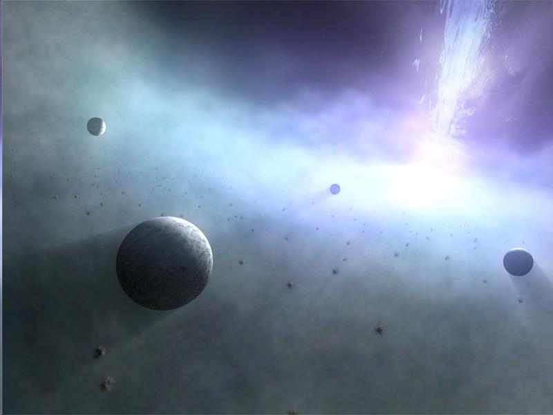 планеты вокруг черной быры
