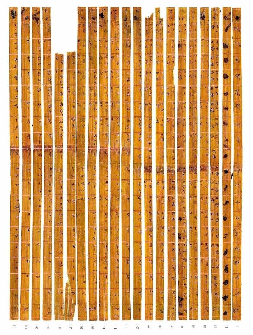 Древняя таблица умножения