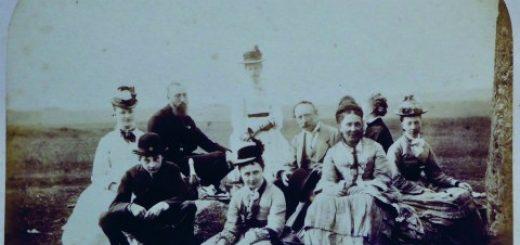 одна из первых в истории фотографий Стоунхенджа