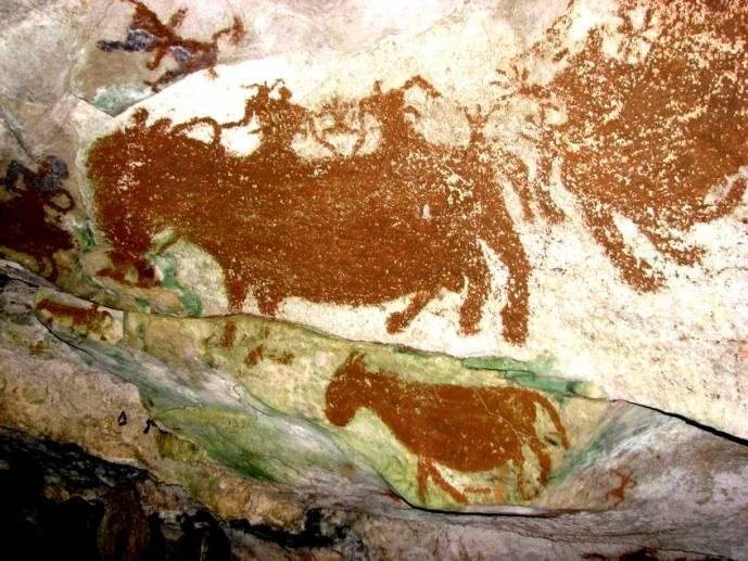 Древнейшая наскальная картина