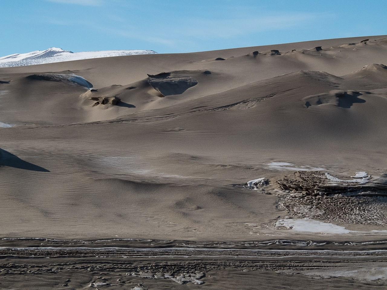 пески Антарктиды
