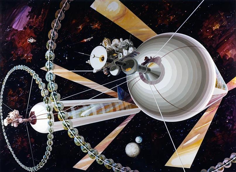 Эскиз «Острова 3» Рика Гвидича. Источник изображения: space.nss.org