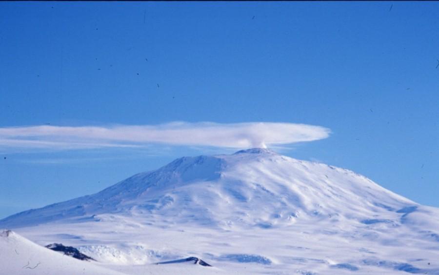 вулкан Антарктиды