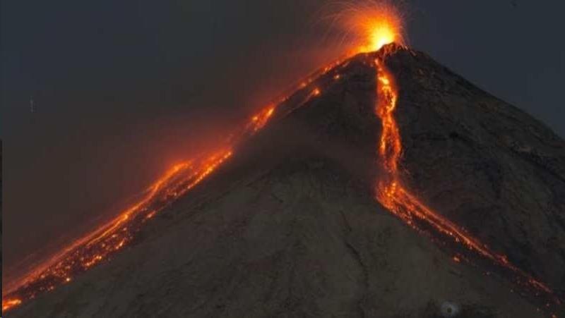 Пропавший вулкан
