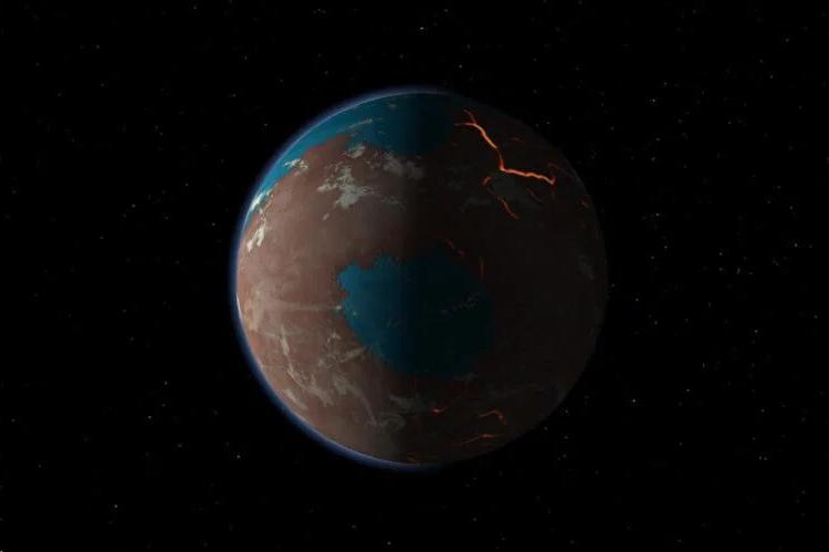 Так, возможно,выглядел Марс в далеком прошлом