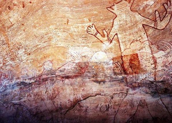 фрески из Тассилин-Адджера